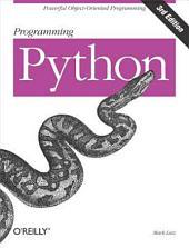 Programming Python: Edition 3