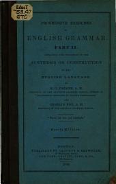 Progressive Exercises in English Grammar: Part 2