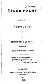 Minor poems, including Napoleon