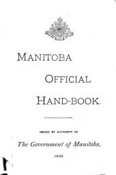 Manitoba Official Hand-book