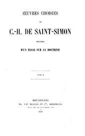 Oeuvres choisies de C. H. de Saint-Simon: Du système industriel