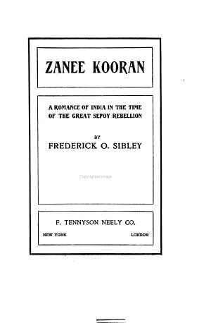 Zanee Kooran