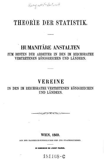 Theorie der Statistik PDF