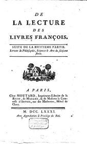 Mélanges tirés d'une grande bibliothèque: Volume19