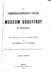 Die ethnographisch-anthropologische Abtheilung des Museum Godeffroy in Hamburg