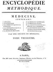 Encyclopédie méthodique: ou par ordre de matières, Volume152