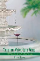 Turning Water into Wine PDF