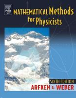 Mathematical Methods For Physicists International Student Edition PDF