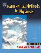 Mathematical Methods For Physicists International Student Edition: Edition 6