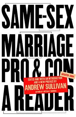 Same Sex Marriage  Pro and Con PDF