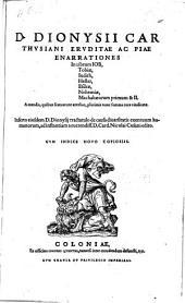 Enarrationes In librum Iob, Tobiae, Iudith, Hester, Esdrae, Nehemiae, Machabaeorum primum & II., A mendis ... vindicatae (etc.)