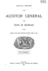 Annual Report of the Auditor General