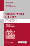 Computer Vision – ECCV 2020