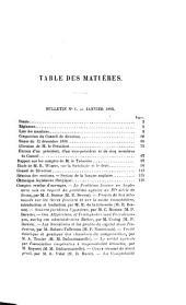 Bulletin de la Société de législation comparée: Numéro24