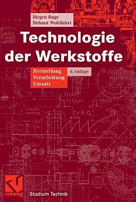 Technologie der Werkstoffe PDF