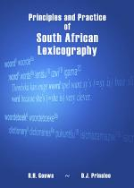 Principles and Practice of South African Lexicography