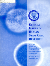 Ethical Issues in Human Stem Cell Research PDF