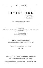 The Living Age ...: Volume 58