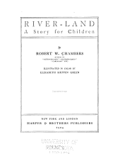 River-land: A Story for Children