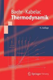 Thermodynamik: Grundlagen und technische Anwendungen, Ausgabe 15