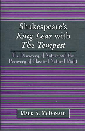 Shakespeare s King Lear with The Tempest PDF