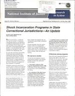 Shock Incarceration Programs in State Correctional Jurisdictions-- an Update