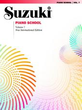 Suzuki Piano School - Volume 7 (New International Edition): Piano Part