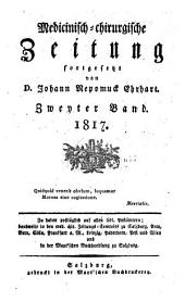 Medicinisch-chirurgische zeitung: Ausgabe 2