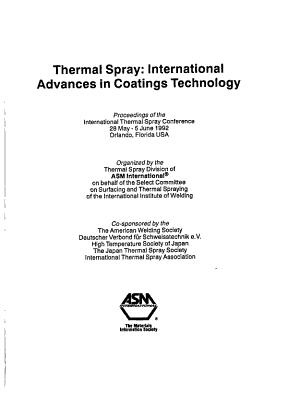 Thermal Spray PDF