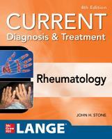 Current Diagnosis   Treatment in Rheumatology  Fourth Edition PDF