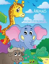 Livro para Colorir de Animais para Crianças 1