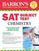 Barron s S  A  T  Subject Test Chemistry