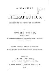 A Manual of Therapeutics