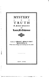 Mystery and Truth: A Sonnet-sequence