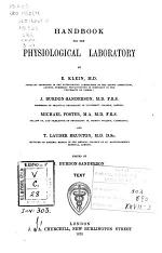 Handbook for the Physiological Laboratory