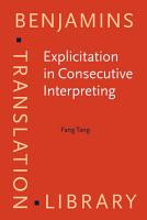 Explicitation in Consecutive Interpreting PDF