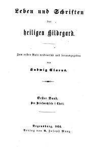 Des Briefwechsels I. Theil