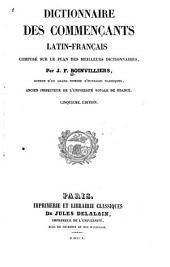 Dictionnaire des commençants latin-français