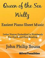 Queen of the Sea Waltz Easiest Piano Sheet Music