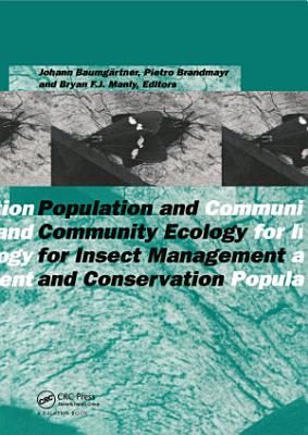 Population and Community Ecology for Insect Management and Conservation PDF