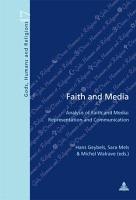 Faith and Media PDF