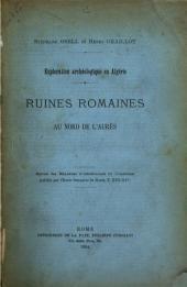 Ruines Romaines au nord de l'aurès