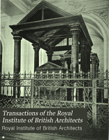 Transactions of the Royal Institute of British Architects PDF