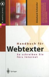 Handbuch für Webtexter: So schreiben Sie fürs Internet
