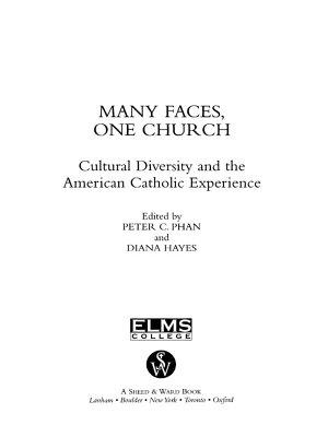 Many Faces  One Church PDF