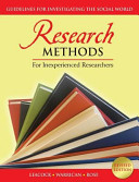 Research Methods for Inexperienced Researchers
