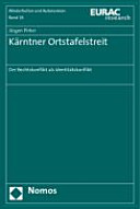 K  rntner Ortstafelstreit PDF