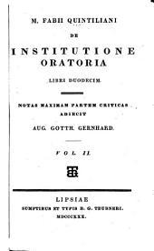 De institutione oratoria libri duodecim: notas...