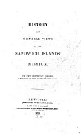 History and General Views of the Sandwich Islands  Mission PDF