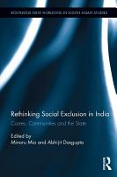 Rethinking Social Exclusion in India PDF